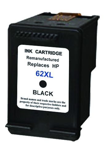 replacement sl for hp 62 xl black refillcolors tilburg. Black Bedroom Furniture Sets. Home Design Ideas